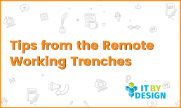 Tips from the remote working trenches