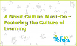 Culture of Learning