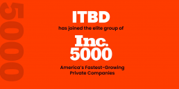 IT By Design named to Inc. 5000 annual ranking of the fastest-growing private companies in America